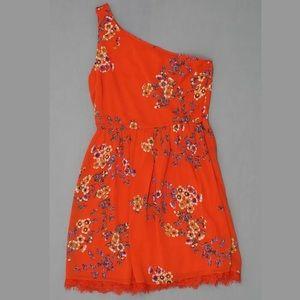 Xhilaration one shoulder dress juniors M NWT mini